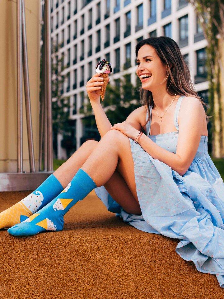 Original gift Regular Socks Ice Cream