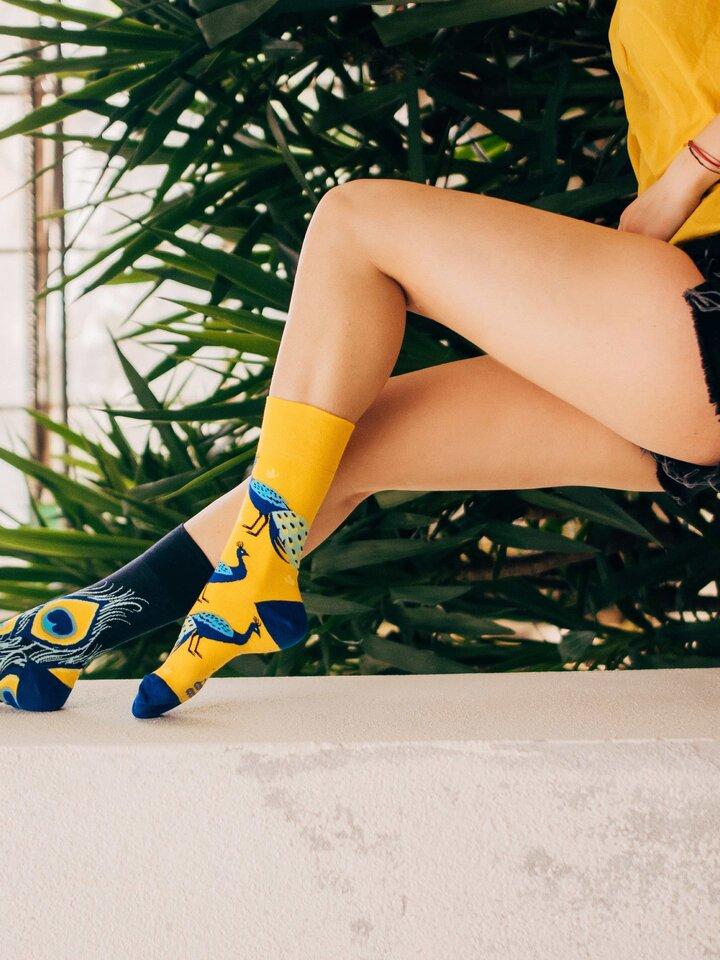 Tip na darček Vrolijke sokken Pauw
