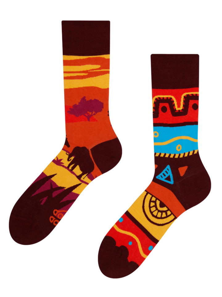 Looking for an original and unusual gift? The gifted person will surely surprise with Regular Socks Africa