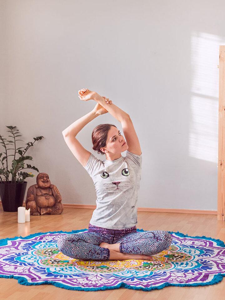 Reducerea Colanţi sport elastici  de damă Mozaic