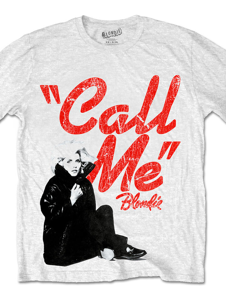 Pre dokonalý a originálny outfit Tričko Blondie Call Me