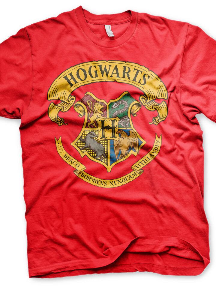 Potěšte se tímto kouskem Dedoles Červené tričko Harry Potter Bradavice