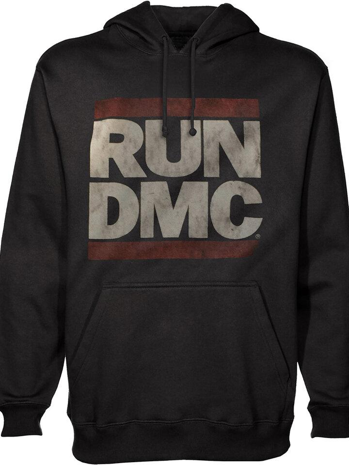 Hľadáte originálny a nezvyčajný darček? Obdarovaného zaručene prekvapí Черен суичър с качулка Run DMC Logo