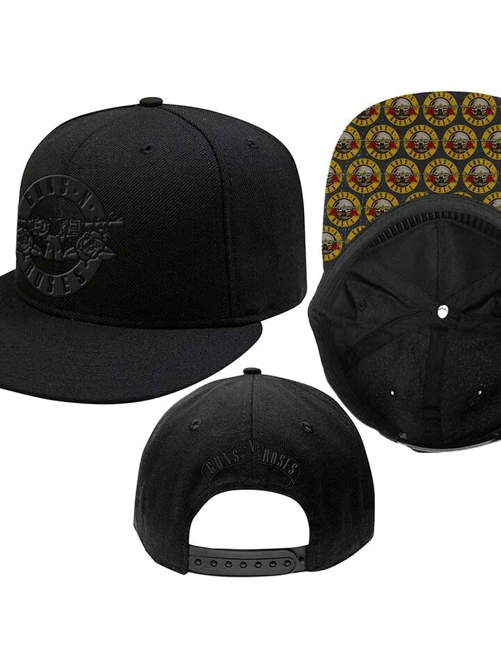 Zľava Čierna šiltovka Guns N' Roses Men's Circle Logo