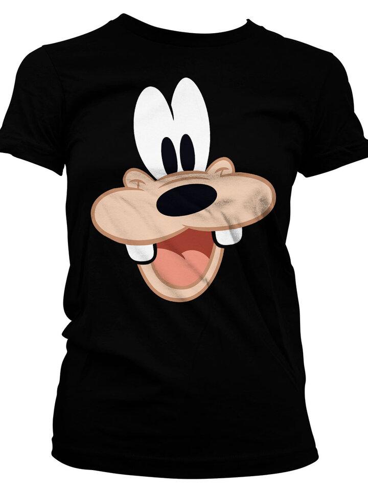 Geschenktipp Damen T-Shirt Goofys Gesicht