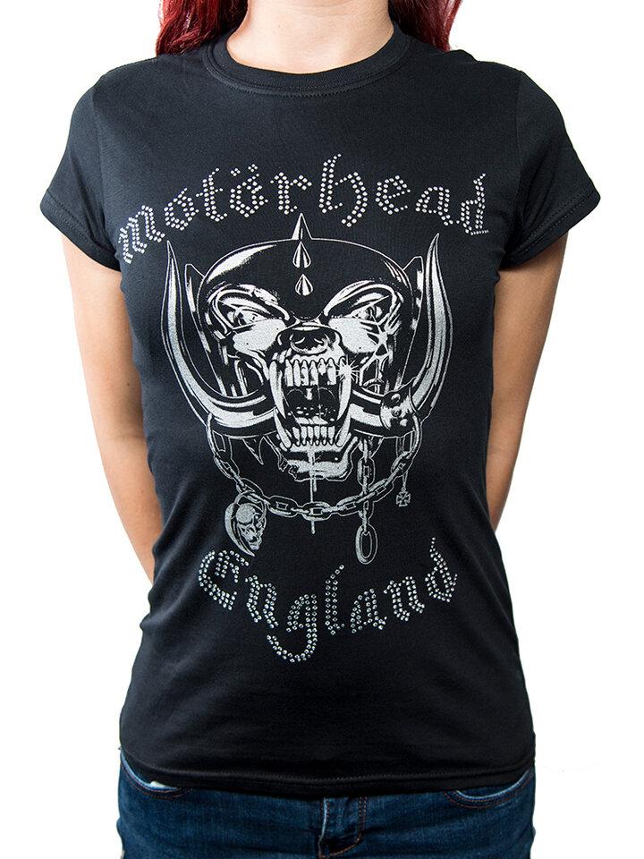 Pre dokonalý a originálny outfit Дамска тениска Motorhead England