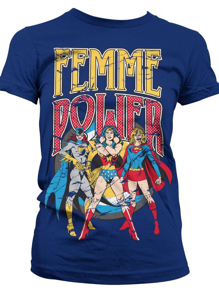 Zľava Ženska majica Wonder Woman Ženska snaga