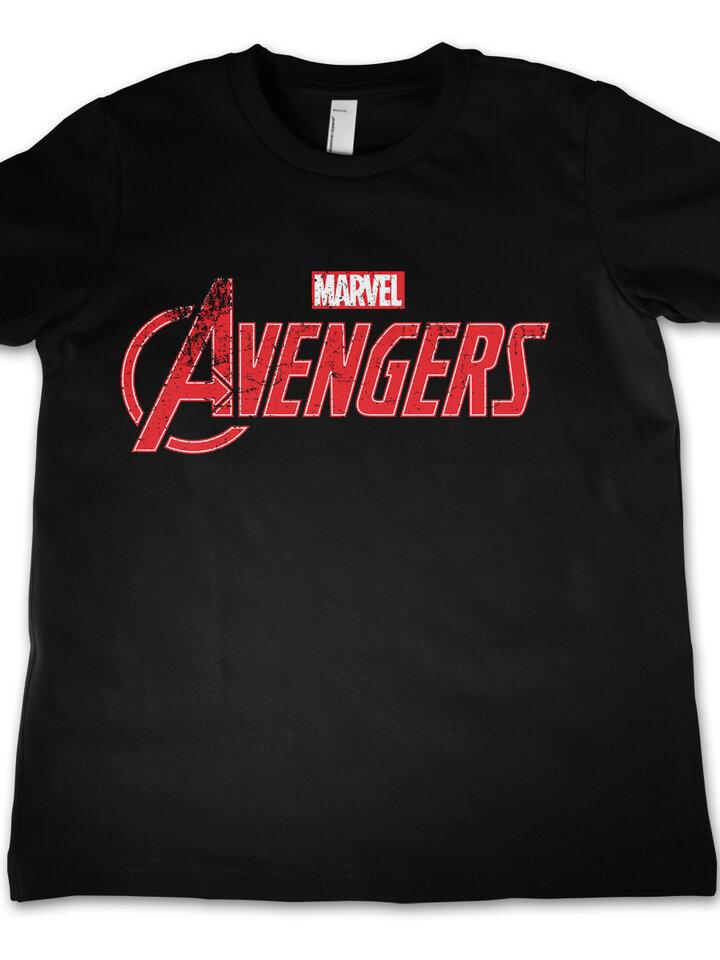Tip na darček Детска тениска Marvel Comics Отмъстелите Лого