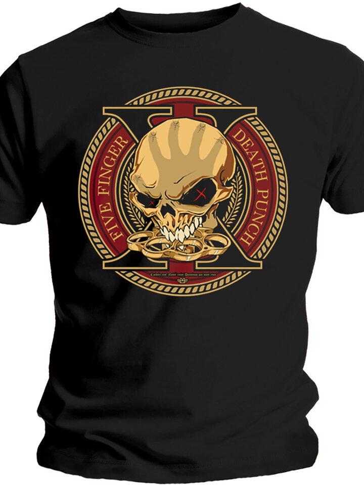 Potešte sa týmto kúskom Dedoles Majica Five Finger Death Punch Decade of Destruction