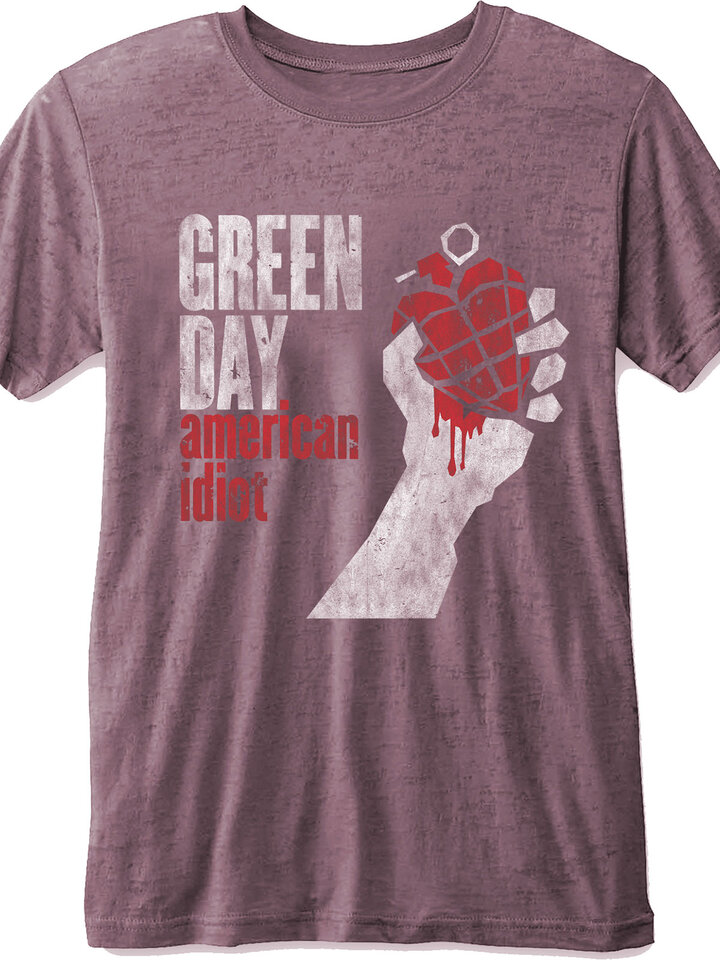 Pre dokonalý a originálny outfit Тениска Green Day American Idiot
