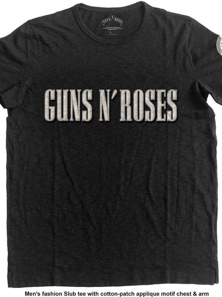 Výpredaj Majica Guns N' Roses Logo & Bullet Circle