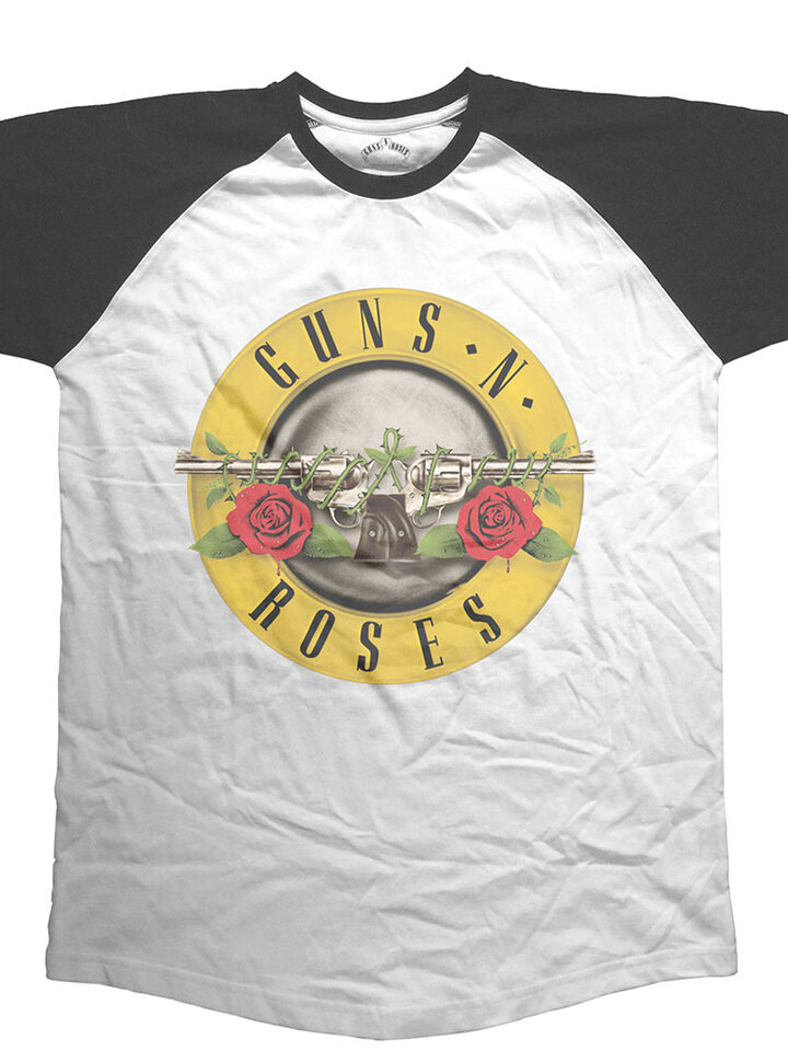Zľava Majica Guns N' Roses Circle Logo