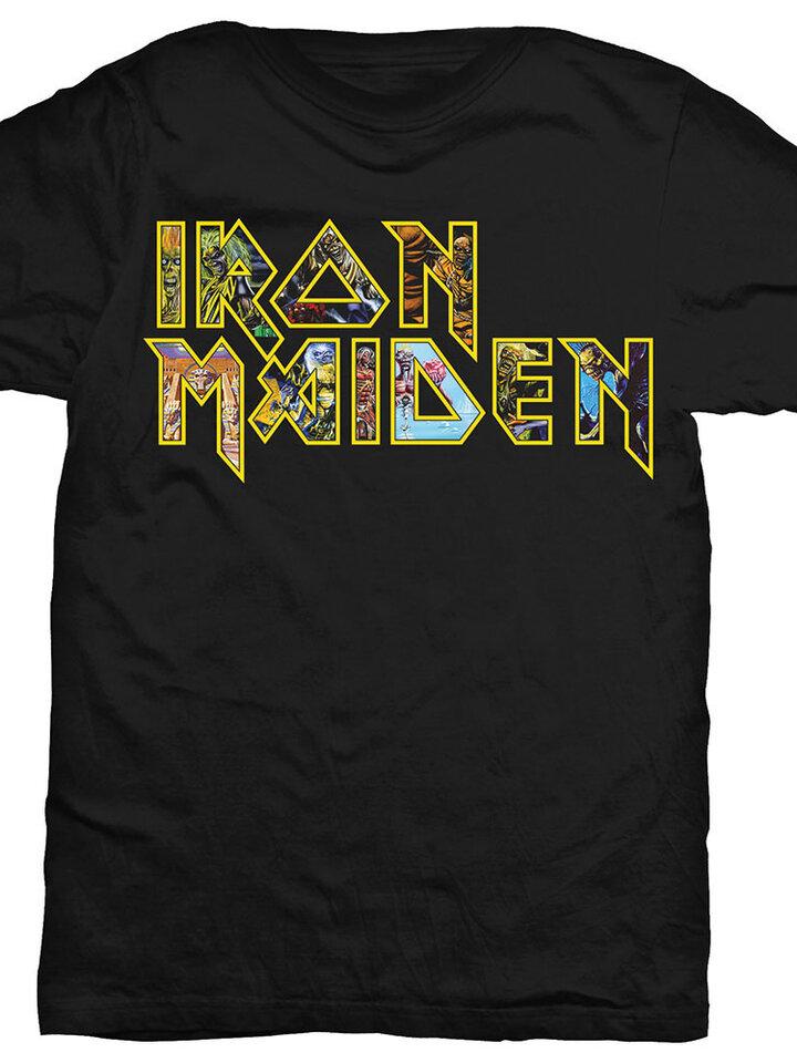 Potešte sa týmto kúskom Dedoles Majica Iron Maiden Eddie Logo