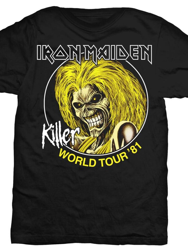 Výnimočný darček od Dedoles Majica Iron Maiden Killer World Tour 81