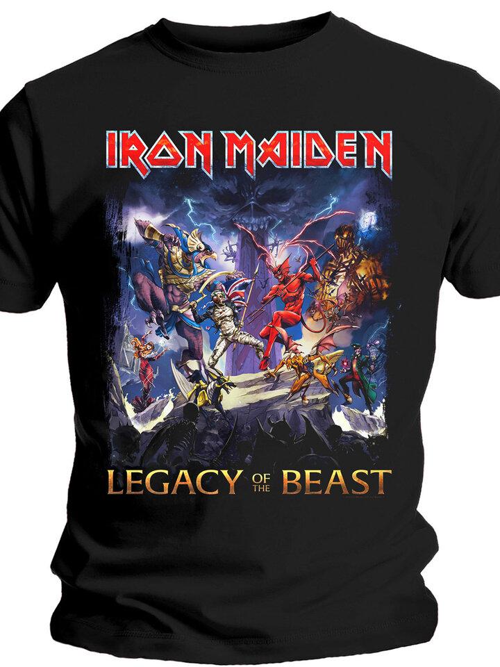 Potešte sa týmto kúskom Dedoles Тениска Iron Maiden Legacy of the Beast