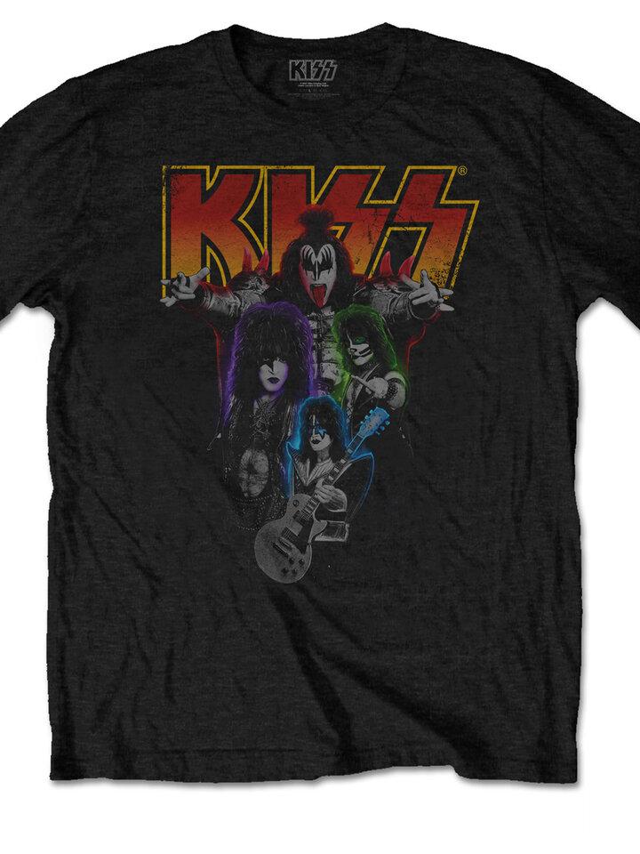 Obrázok produktu Majica KISS Neon Band
