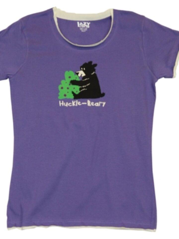 Výnimočný darček od Dedoles Dámske tričko na spanie Hladný medvedík