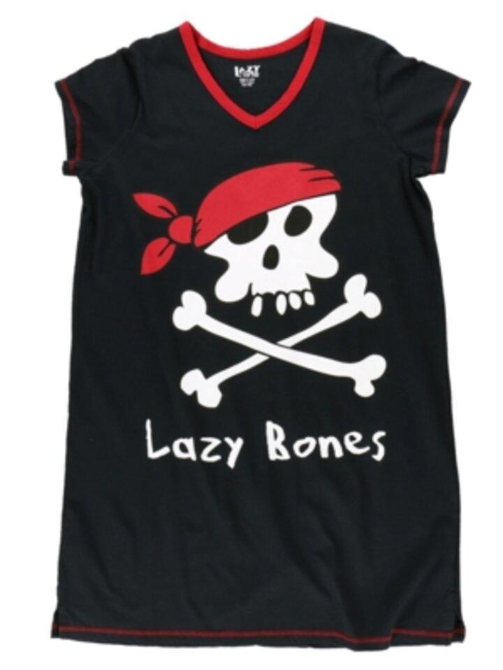 Potěšte se tímto kouskem Dedoles Dámská noční košile s véčkovým výstřihem Pirát Lína Kost
