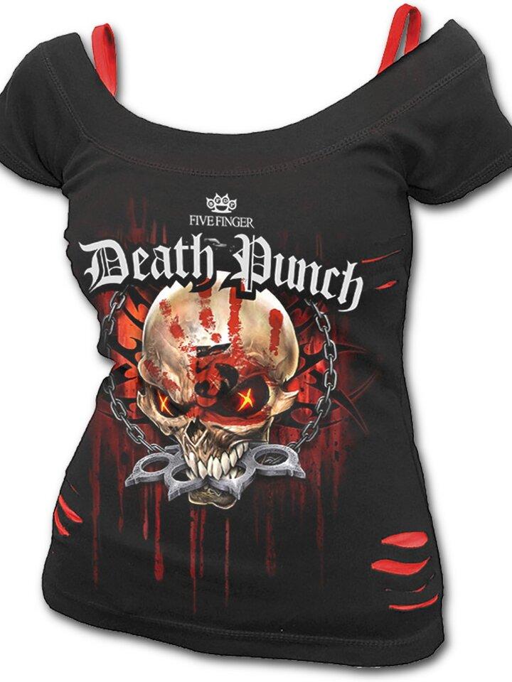 Tip na dárek Dámské tričko 2v1 Five Finger Death Punch