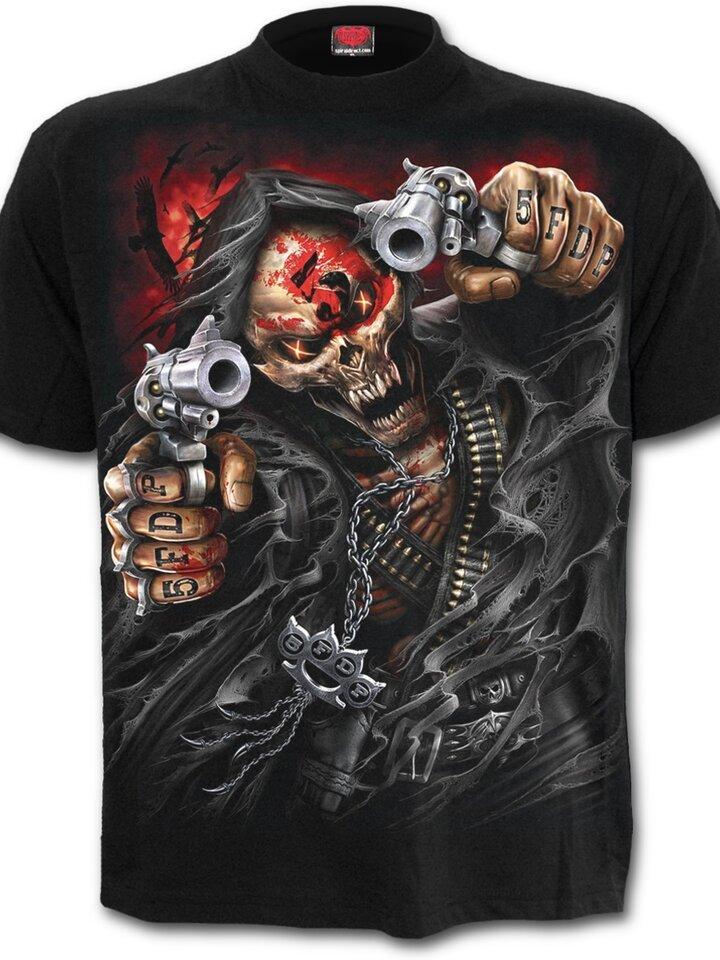 Výnimočný darček od Dedoles Tričko Five Finger Death Punch Assassin