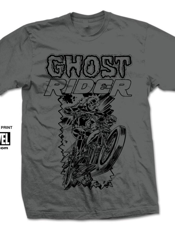 Lifestyle foto Majica Marvel Comics Ghost Rider Simple