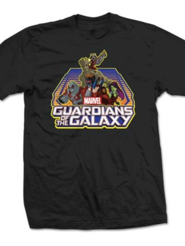 Tip na darček Majica Marvel Comics Guardians of the Galaxy Group Logo