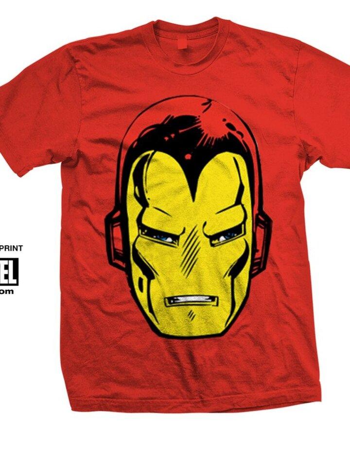 Výpredaj Majica Marvel Comics Iron Man Big Head