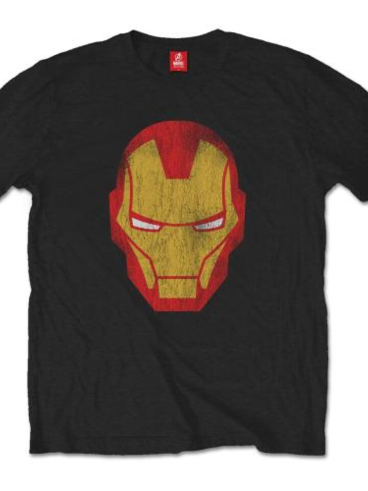 Lifestyle foto Majica Marvel Comics Iron Man Distressed