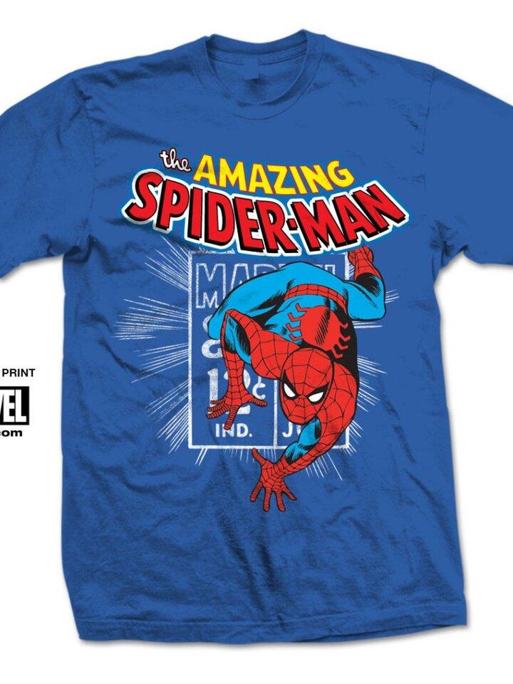 Výpredaj Majica Marvel Comics Spidey Stamp