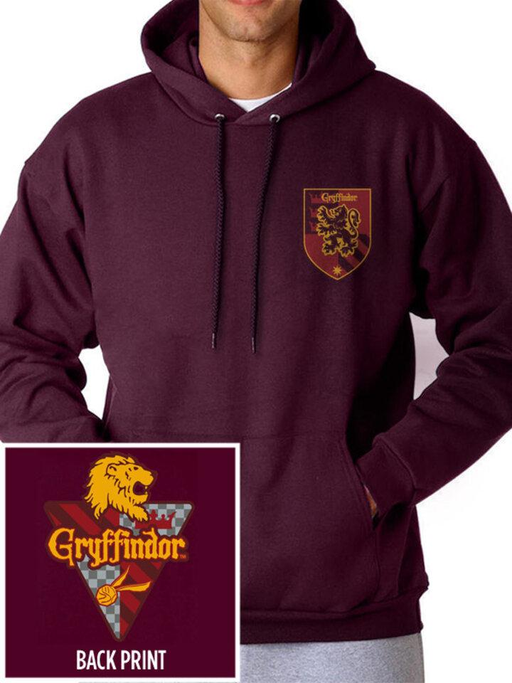 Výnimočný darček od Dedoles Mikina s kapucňou Harry Potter - Fakulta Chrabromil