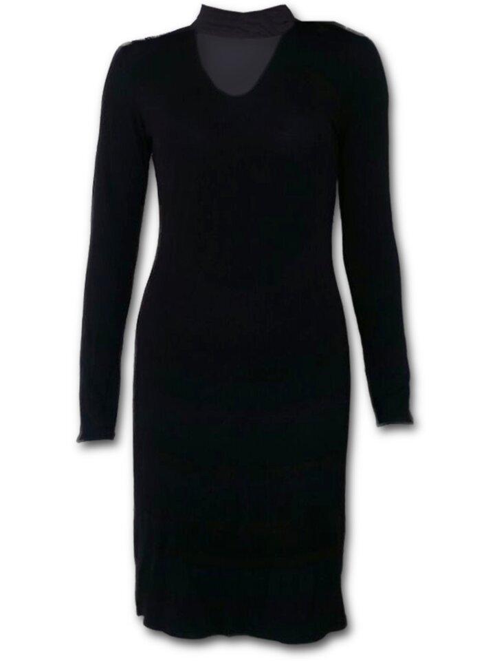 Potešte sa týmto kúskom Dedoles Elegantné čierne gotické šaty
