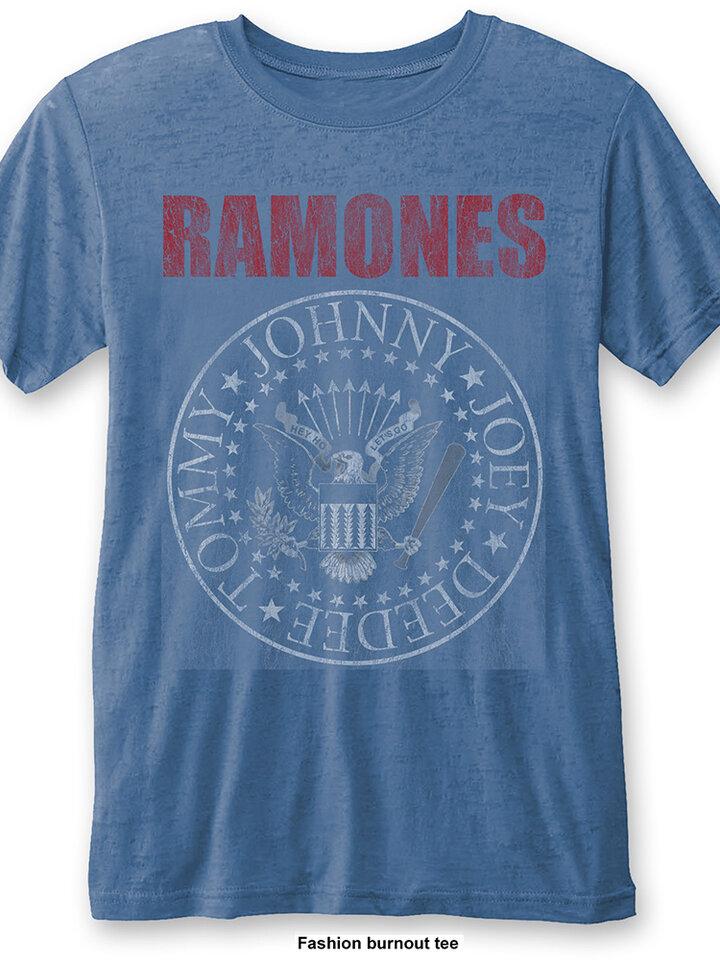 Lifestyle foto Синя тениска Ramones Presidential Seal