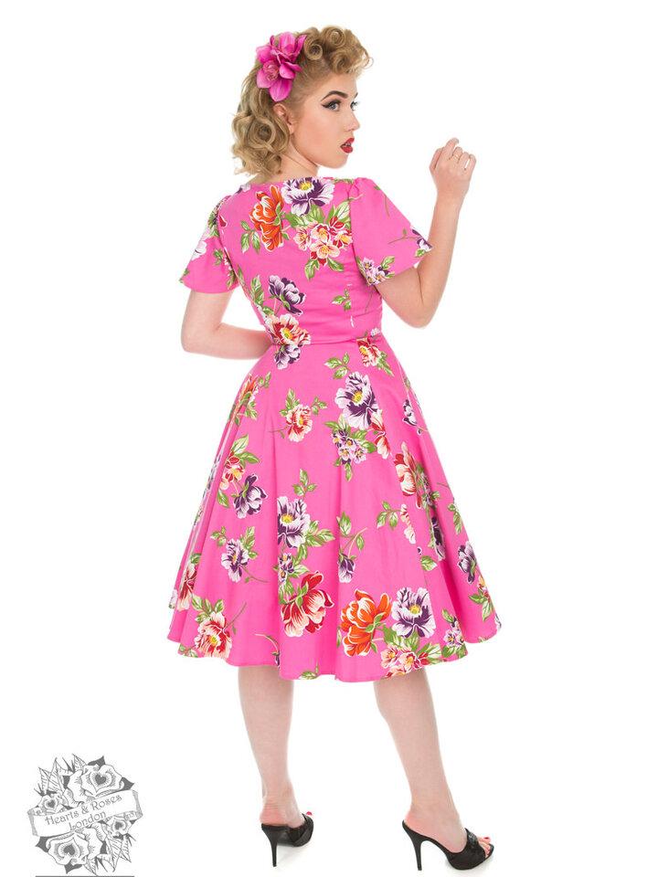 Suchen Sie ein originelles und außergewöhliches Geschenk? überrascht den Beschenkten sicher Vintage Pin Up Kleid Ich liebe Swing