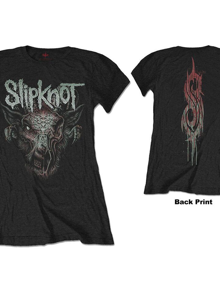 Tip na darček Ženska obostrana majica Slipknot Infected Goat