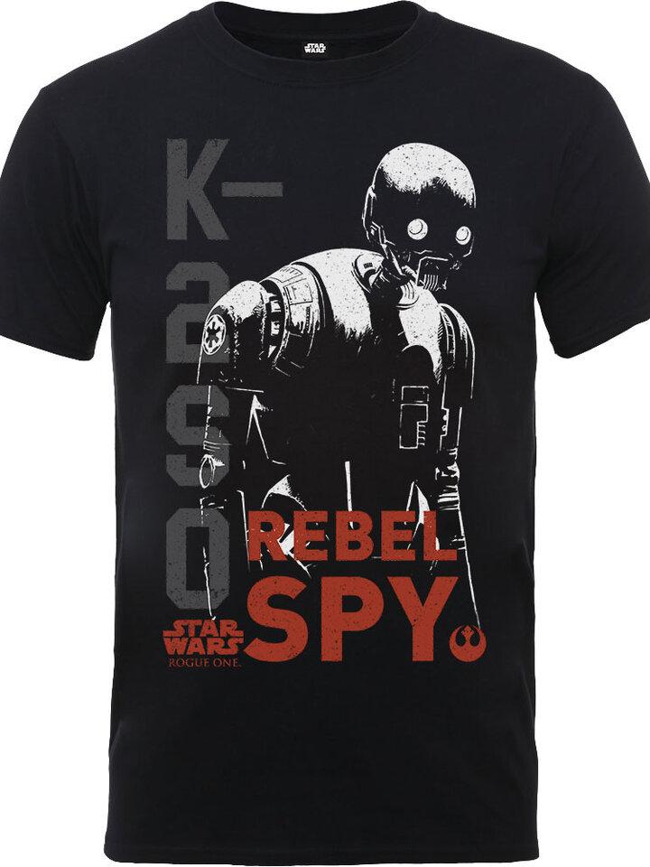 Pre dokonalý a originálny outfit Dječja majica Star Wars Rogue One K2SO Rebel Spy