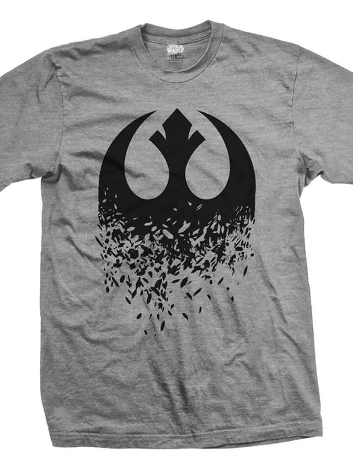 Reducerea Tricou Star Wars Episode VIII Rebel Logo Splintered