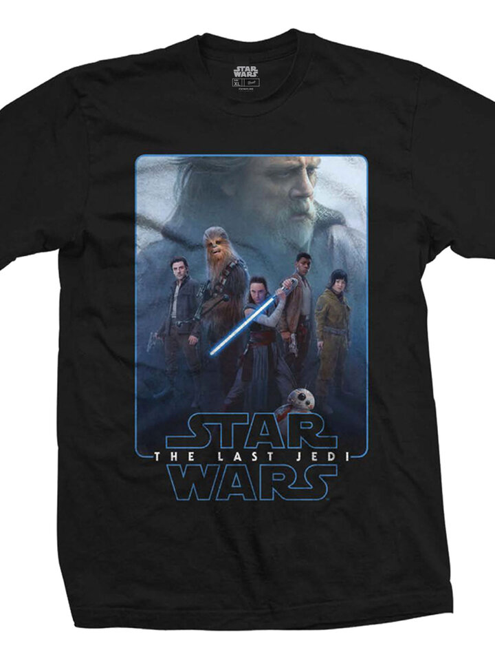 Pre dokonalý a originálny outfit Тениска Star Wars Episode VIII The Force Composite