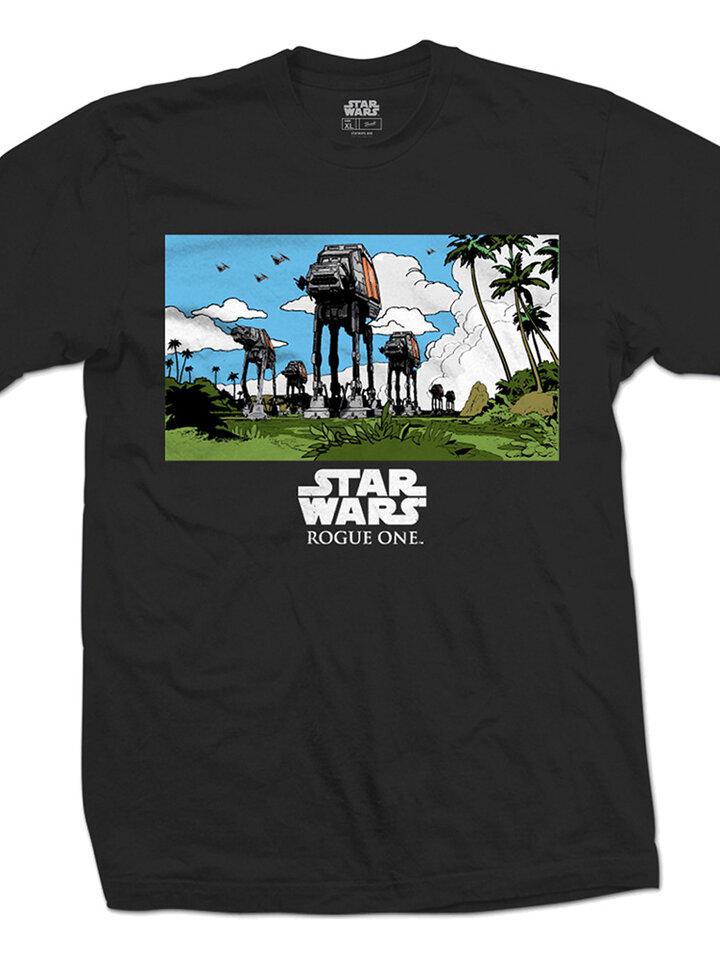 Potešte sa týmto kúskom Dedoles Majica Star Wars Rogue One AT-AT March