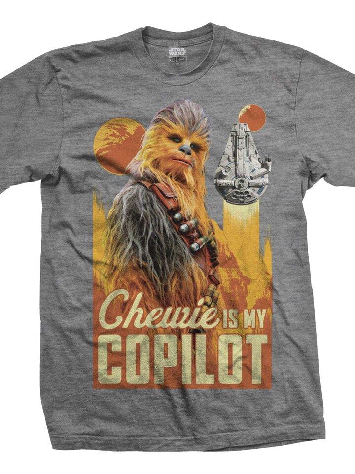 Potešte sa týmto kúskom Dedoles Тениска Star Wars Solo Chewie Co-Pilot