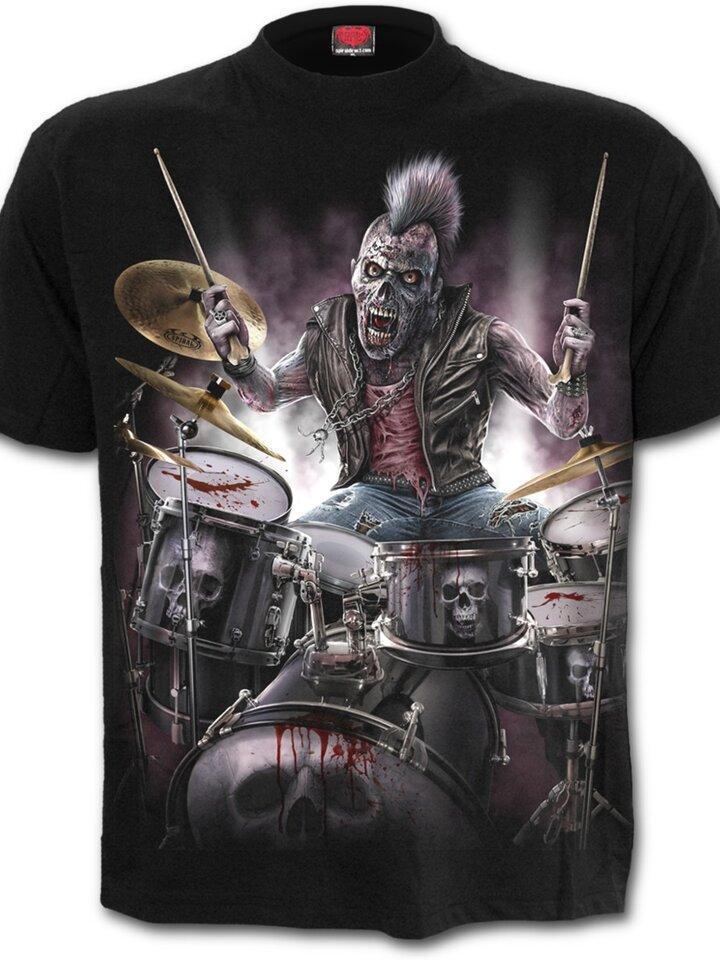 Lifestyle foto Tričko Zombie bubeník