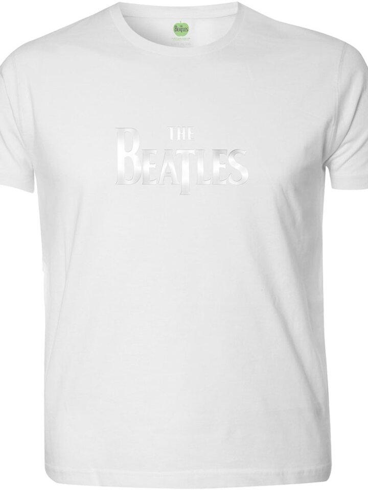 Pre dokonalý a originálny outfit Бяла тениска The Beatles Drop T Logo
