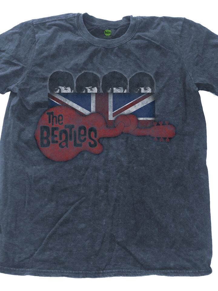 Pre dokonalý a originálny outfit Majica The Beatles Guitar & Flag