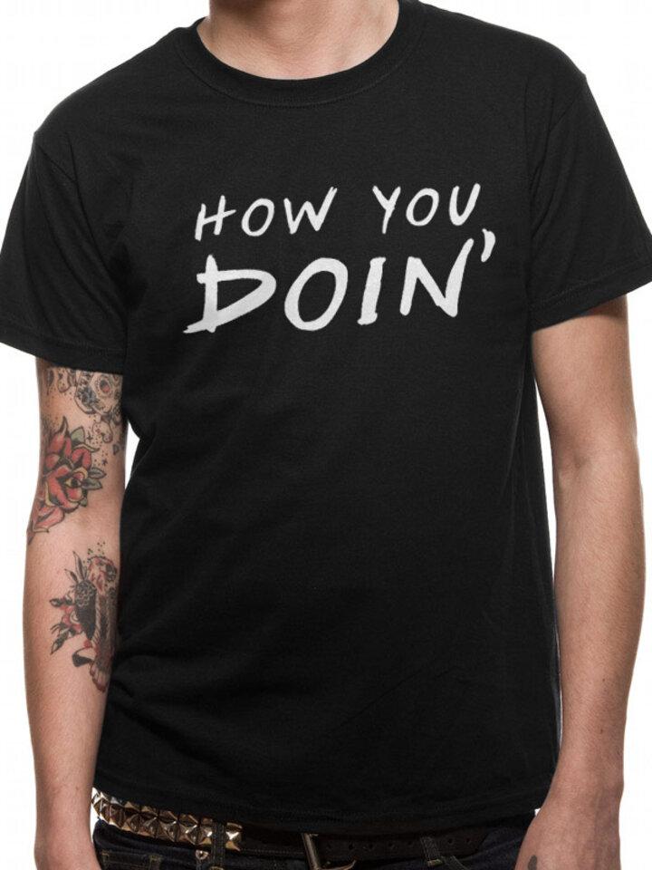 Pre dokonalý a originálny outfit Majica Friends - How u doin