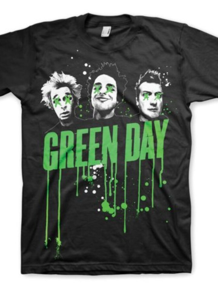 Pre dokonalý a originálny outfit Majica Green Day Drips