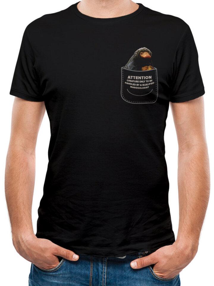 Pre dokonalý a originálny outfit Majica Grindelwaldovi zločini- Niffler u džepu