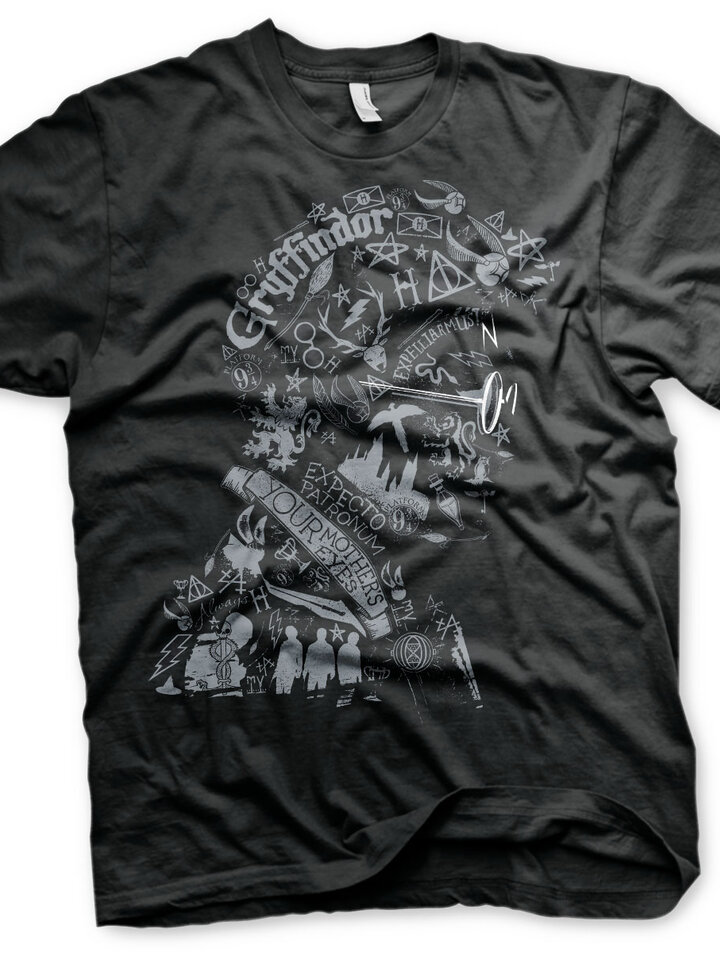 Obrázok produktu Тениска Хари Потър Магьосникът от символи