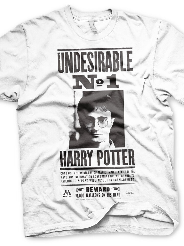 Výpredaj Majica Harry Potter Wanted