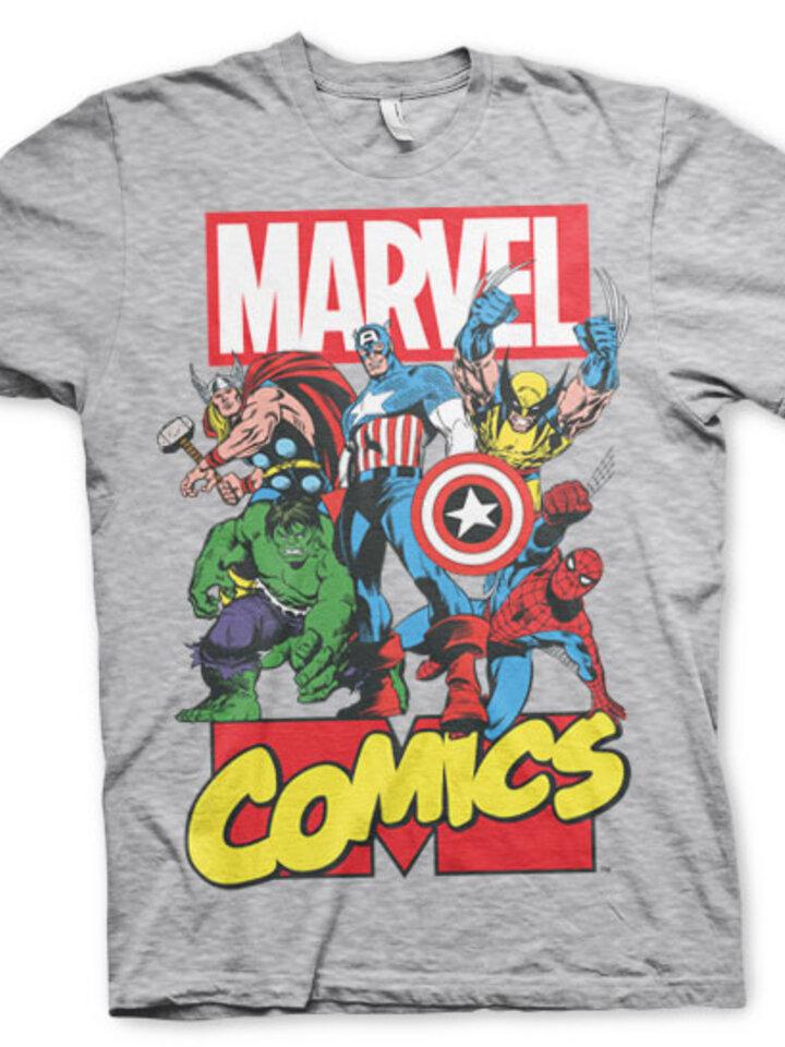 Foto  Tričko Marvel Comics Captain America Comics Heroes