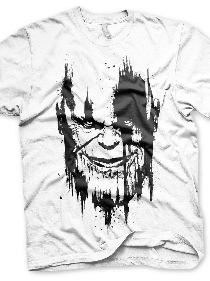 Pre dokonalý a originálny outfit Тениска Marvel Comics Отмъстелите нарисуванТанос