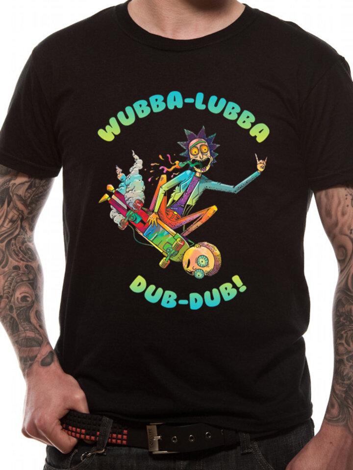 Potešte sa týmto kúskom Dedoles Majica Rick and Morty - Skate